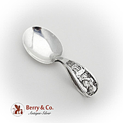 Mary Had A Little Lamb Baby Spoon Curved Handle Watson Sterling 1920