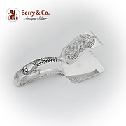 Saint James Asparagus Tongs Tiffany Co Sterling Silver Pat 1900