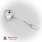 Tuscan Soup Ladle Michael Gibney Coin Silver Pat 1846