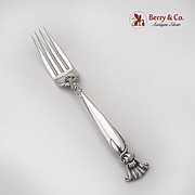 Romance Of The Sea Luncheon Fork Wallace Sterling Silver 1950