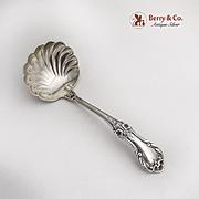 Wild Rose Gravy Ladle Shell Bowl International Sterling Silver 1948