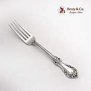 Wild Rose Regular Fork International Sterling Silver 1948