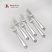 George II Luncheon Forks Set Birks Sterling Silver
