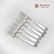 George II Dinner Forks Set Birks Sterling Silver