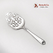 George II Petit Four Small Pastry Server Birks Sterling Silver 1914