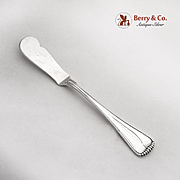 Buccellati Master Butter Knife Sterling Silver Italy