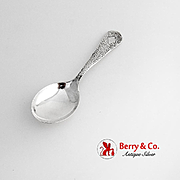 Arts And Crafts Hammered Baby Spoon Watrous Sterling Silver 1920