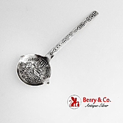 Old Kentucky Home Souvenir Spoon Whiskey Ladle Figural Bowl Sterling Silver