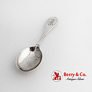 Pointed Antique Baby Spoon Dominick Haff Sterling Silver 1900