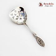 Valenciennes Bon Bon Candy Nut Spoon Manchester Silver Co Sterling Silver