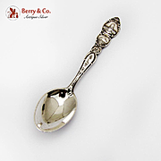 Washington State Souvenir Spoon Olympia Sterling Silver 1940