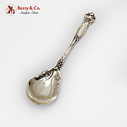 Carnation Sugar Spoon Wallace Sterling Silver Pat 1908