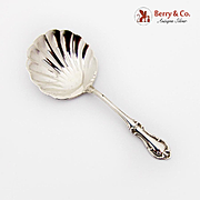 Joan Of Arc Bon Bon Candy Nut Spoon Shell Bowl International Sterling Silver