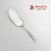 Sheraton Fish Slice Server Mauser Mount Vernon Sterling Silver Pat 1906