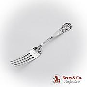 Georgian Regular Fork Towle Sterling Silver Pat 1898