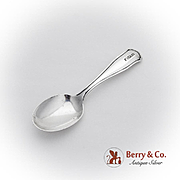 Ramona Baby Spoon Shreve Co Sterling Silver 1909 Mono