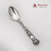 Bridal Rose Five O Clock Teaspoon Alvin Sterling Silver 1903