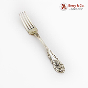 Sir Christopher Dinner Fork Wallace Sterling Silver Pat 1936