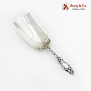 Lily Almond Scoop Whiting Mfg Co Sterling Silver Pat 1902