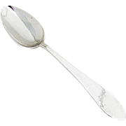 Arts And Crafts Hammered Spoon Lunt Silversmiths Sterling Silver
