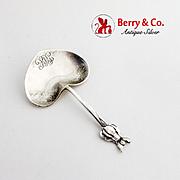 Blossom Bon Bon Candy Nut Spoon Tiffany Co Sterling Silver 1880 Mono