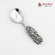 Foliate Scroll Openwork Berry Spoon 830 Standard Silver 1950 Norway