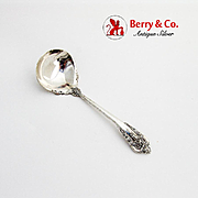 Grande Baroque Sauce Ladle Wallace Sterling Silver 1941