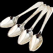 Faneuil 5 O Clock Teaspoons Set Tiffany Co Sterling Silver 1910 No Mono