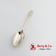 Faneuil Place Soup Spoon Tiffany Co Sterling Silver 1910