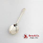 Faneuil Cream Soup Spoon Tiffany Co Sterling Silver 1910