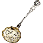 Olympian Small Strainer Spoon Gilt Bowl Tiffany Co Sterling Silver Pat 1878