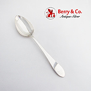 Faneuil Serving Spoon Tiffany Co Sterling Silver 1910