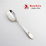 Faneuil Berry Casserole Spoon Tiffany Co Sterling Silver 1910