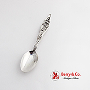 Lily Of The Valley Teaspoon Whiting Mfg Co Sterling Silver 1885 Edith