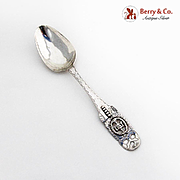 Engraved Openwork Tablespoon Applied Decorations Scandinavian 800 Silver 1800