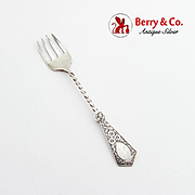 Antique Baby Fork Sterling Silver Birmingham 1876