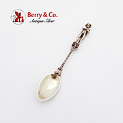 Napoleon Bonaparte Coffee Spoon 800 Silver