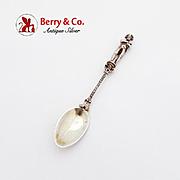 Napoleon Bonaparte Coffee Spoon 800 Silver
