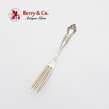 Strawberry Fork Sterling Silver 1900