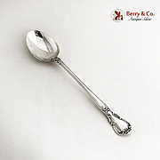Chantilly Stuffing or Dressing or Platter Spoon Gorham Sterling Silver 1895
