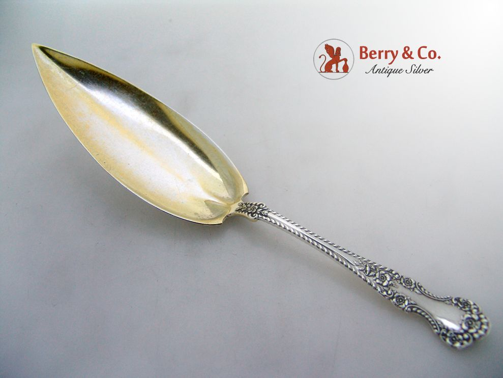 Cambridge Jelly Cake Server Sterling Silver Gorham 1899