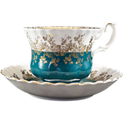 Royal Albet Cup & Saucer from the Regel Series