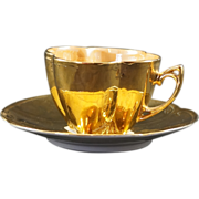 ELEANOR Germany Gold Cup & Saucer