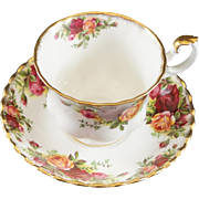 Royal Albert Fine Bone China Cup & Saucer Old Country Roses