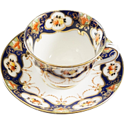 Royal Albert Fine Bone China Cup & Saucer HAND PAINTED Early Mark