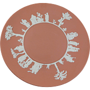 WEDGWOOD Terra Cotta Jasperware Cake Plate