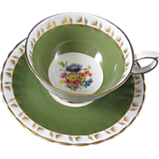 Susie Cooper Bone China Cup & Saucer