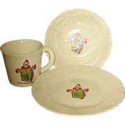 Child's Romper Room Breakfast Set