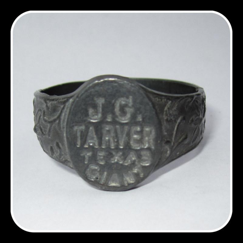 JG Tarver, Texas Giant Ring, Circus Souvenir