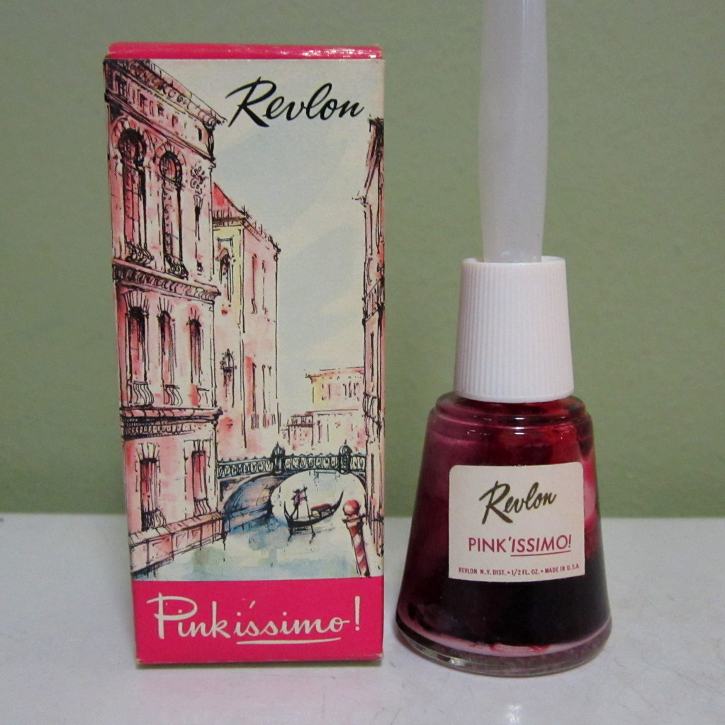 Revlon Vintage Nail Polish U0026 Box Pink U201cissimou201d SOLD On Ruby Lane